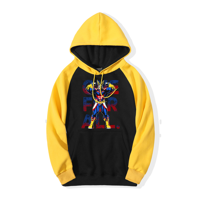 ALL MIGHT MY HERO ACADEMIA HOODIE (4 VARIAN)