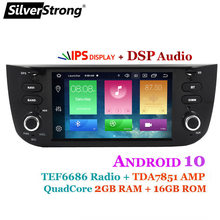 SilverStrong IPS DSP Android10 autoradio pour FIAT Punto 199 310/Linea 323 2012 2013 2014 2015 2016(China)