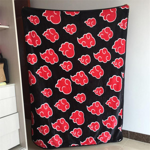 Image 4 - Cobertor vermelho para cosplay de naruto akatsuki, fecho de flanela de uchiha itachi pain nagato