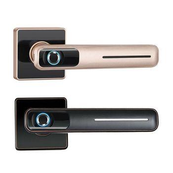 1Set Smart Elettronico Serratura Della Porta Biometrico di Impronte Digitali Serratura con Chiave per la Casa Kit di Vendita Calda Innovation Keep Going Store