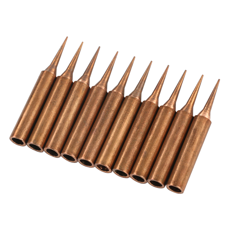Tools : 100 Pcs Copper soldering Iron Tip 900M-T-I tip Lead-free Welding Sting for soldering rework station