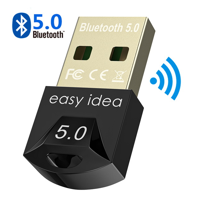Wireless USB Bluetooth Adapter 5.0 for Computer Bluetooth Dongle USB Bluetooth 4.0 PC Adapter Bluetooth Receiver Transmitter 1