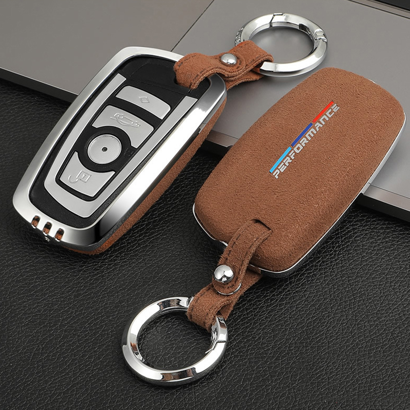 Car Styling Key Rings Protection Cover Stickers For BMW F10 F30 X3 X4 F25 F26 Protect Shell Cover Case Interior Auto Accessories