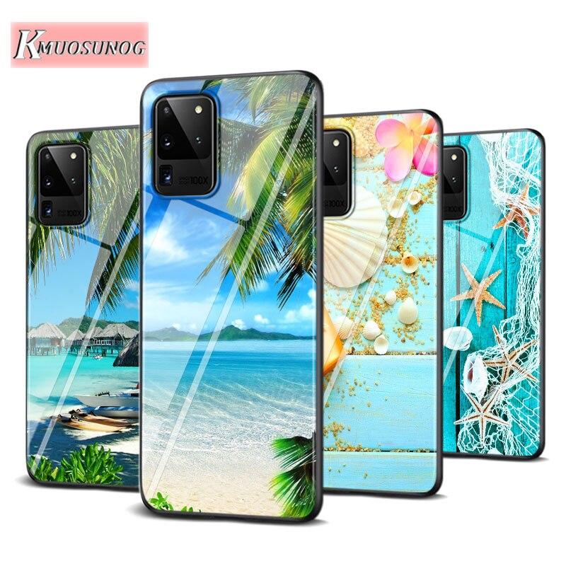 Starfish Sea Beach Fashion For Samsung Galaxy Note 10 Lite S20ultra S20 Plus A01 A21 A51 A71 A81 A91 Super Bright Phone Case