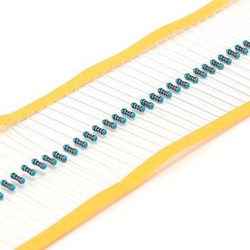 300pcs 1/2W 0.5W Metal Film Resistor 30 value Assorted set 1% five-color ring Resistors DIY assortment Kit 0.1 ohm -750 ohm 600pcs 14w 330 ohm resistor 1 rohs14w 330r ohm metal film resistors 0 25w watt color ring resistance carbon film