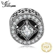 Jewelrypalace натуральная 925 пробы серебро звездное Приглашения подвески-шармы браслеты-Подарки для Для женщин Юбилей Fine Jewelry
