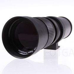 420-800Mm F/8.3-16 Telephoto Zoom Lens For Canon Nikon Pentax Sony Dslr Cameras
