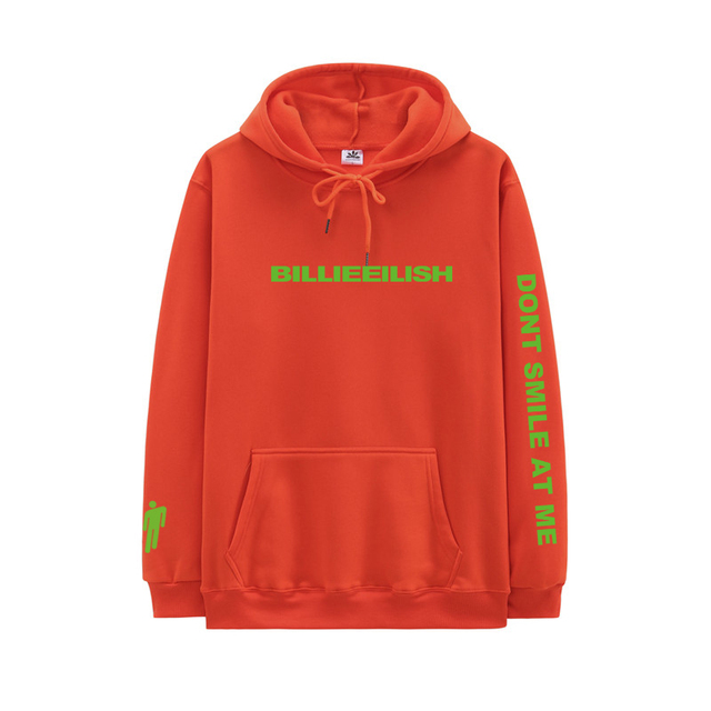 BILLIE EILISH THEMED HOODIE (7 VARIAN)