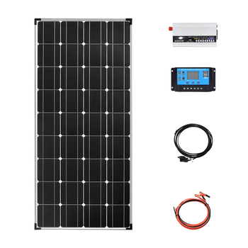 Kit completo de sistema de panel Solar, 12v, 110V, 220v, 1000W, cargador...