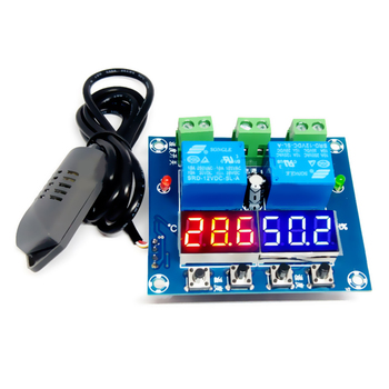 XH-M452 Temperature and humidity Control Module Digital Display  High Precision Double Output