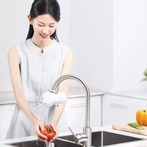 Image 5 - Youpin Xiaoda التدفئة الفورية صنبور المطبخ سخان مياه كهربي 30 50 درجة مئوية درجة الحرارة الباردة الدافئة قابل للتعديل صنبور