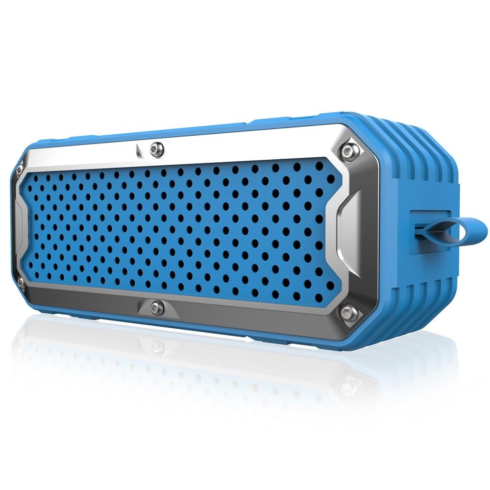 Zélot S6 3D stéréo Bluetooth haut-parleur étanche extérieur sans fil Subwoofer mains libres Support AUX TF carte 4000mAh batterie