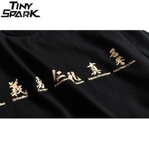 Image 5 - 2019 Hip Hop T Shirt Men Japanese Samurai Printed Harajuku T Shirts Streetwear Spring Summer Tshirt Short Sleeve Tops Tee HipHop