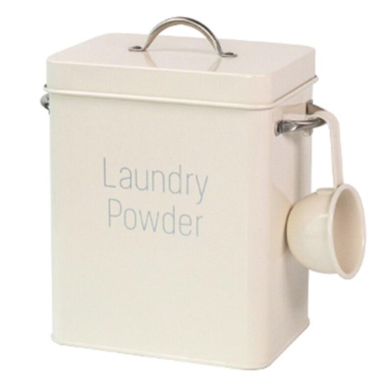 poudre lessive poudre boites stockage cereales distributeur boite de rangement cuisine alimentaire grain riz conteneur lavage poudre seau
