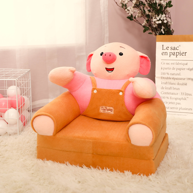 Children Folding Sofa Cartoon Cute Boy And Girl Lying In Chair Bed Baby Bench Kindergarten Can Be Dismantled And Washed