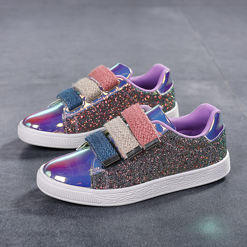 2020 New Ladies Shoes Sneakers Woman Shoes Glitter Flats Casual Shoes
