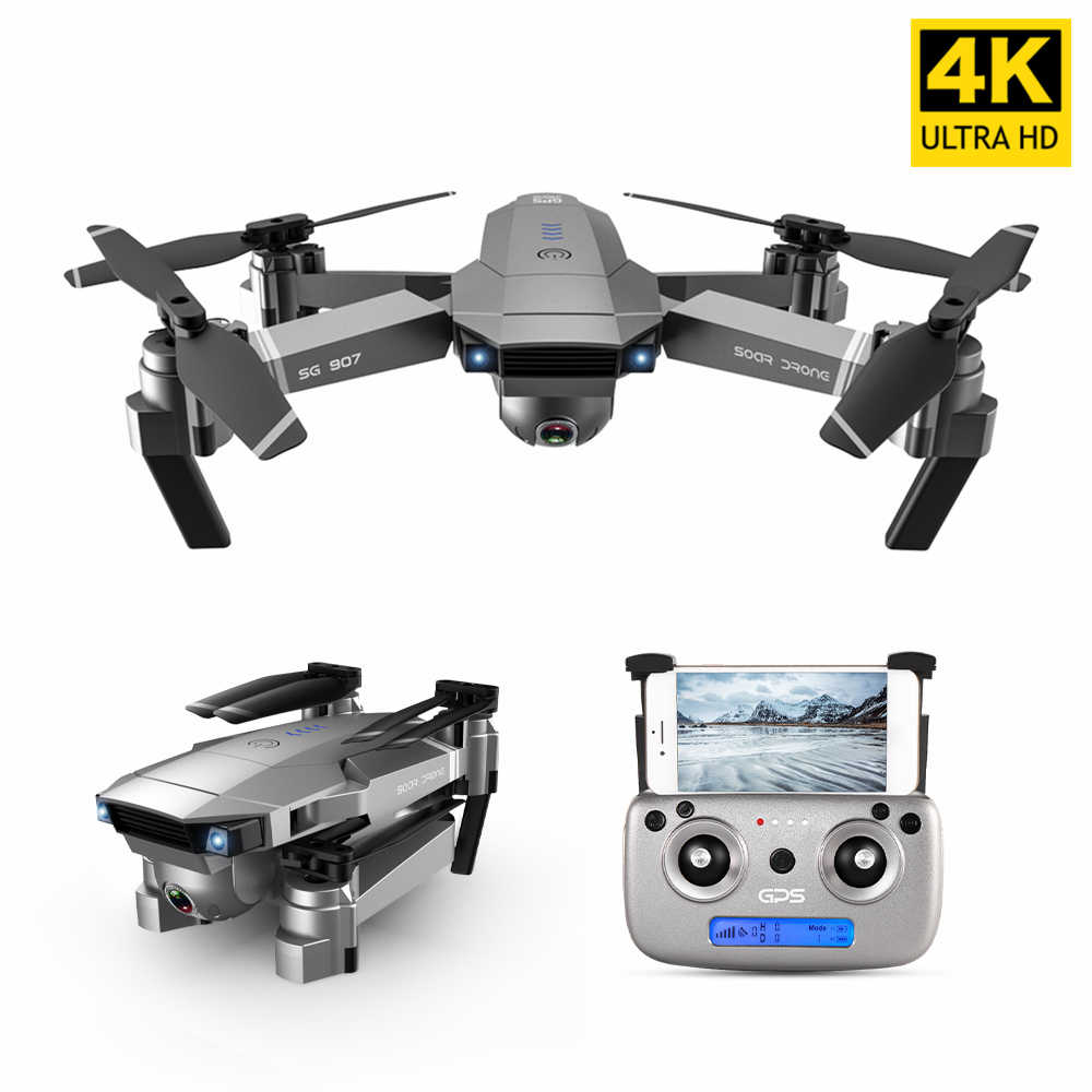 SG907 SG901 GPS Drone with 4K HD Adjustment Camera Wide Angle 5G WIFI RC Quadcopter Professional Foldable Drones VS SG906 S167
