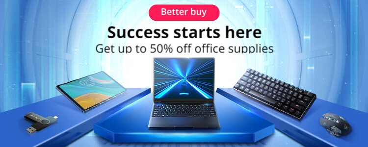 aliexpress.com - Upto 50% Off on Office Supplies and Computer accessories