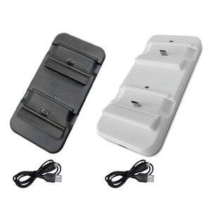 Image 5 - Çift şarj standı istasyonu denetleyicisi Xbox one kablosuz Gamepad için hızlı şarj USB standı tabanı Cradle Xbox olanlar kontrolörleri