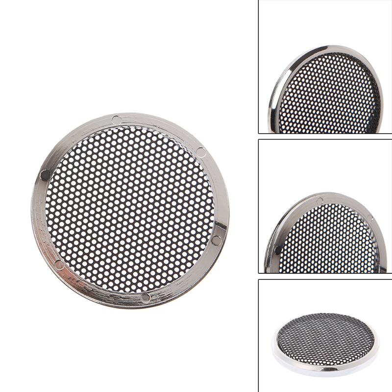 2pcs New Replacement Round Speaker Protective Mesh Net Cover Grille Circle Speaker Accessories 6 Style For Choose