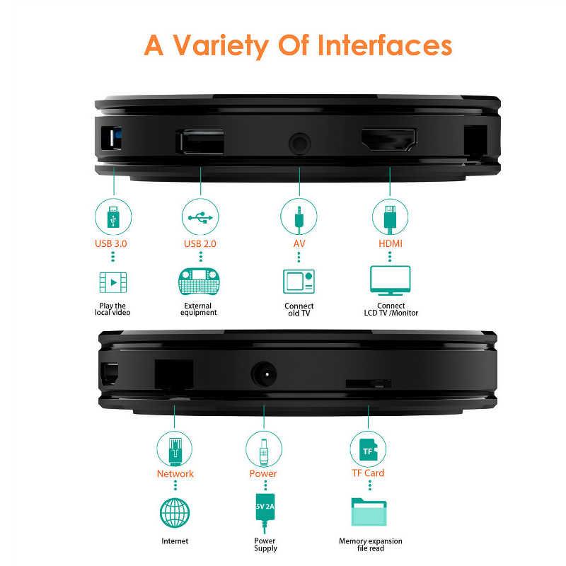 HK1 MAX Android 9.0 ensemble décodeur TV 4K Youtube Google Assistant 4G 64G 3D vidéo TV récepteur Wifi jouer magasin décodeur Smart TV Box