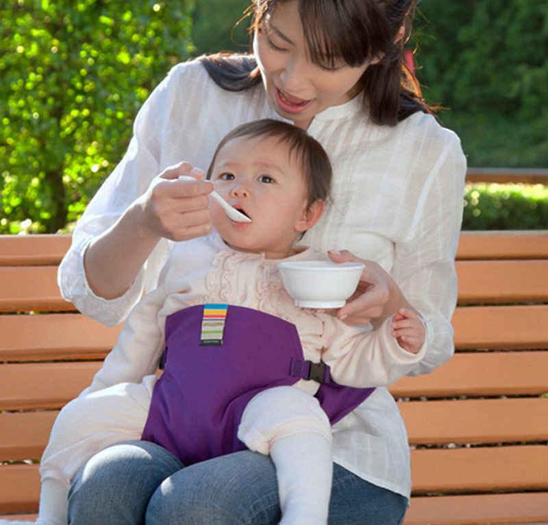 เก้าอี้เด็กทารกแบบพกพาที่นั่งผลิตภัณฑ์ Dining อาหารกลางวันเก้าอี้/ความปลอดภัยที่นั่งเข็มขัดให้อาหารเก้าอี้สูงสายรัดเด็กเก้าอี้