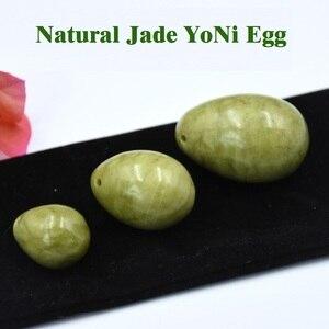 Image 5 - DropShippingธรรมชาติหยกไข่Kegelผู้หญิงอุ้งเชิงกรานกล้ามเนื้อออกกำลังกายKegelไข่Yoniกระชับช่องคลอดBen Wa Ball Kegelไข่