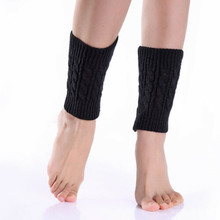 Ladies Winter Knitted Leg Warmers Boot Cuffs Trim Toppers Leg Warmers ST003
