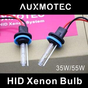 Image 1 - Żarówki reflektorów samochodowych H1 H7 H11 9005 HB3 9006 HB4 lampa ksenonowa HID światła 4300K 6000K 8000K dla Auto soczewki projektora H3 D2H 9012