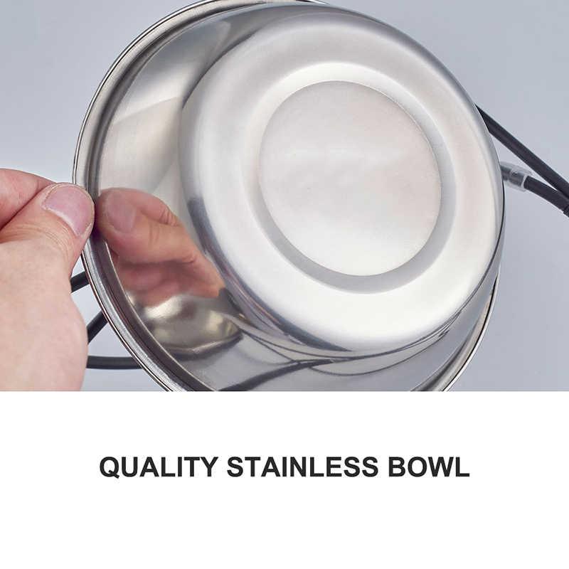 Benesaw jakość styl kości podniesiony karmnik dla zwierząt dla małych średnich duży pies żelazko ze stali nierdzewnej stojak kot jedzenie dla szczeniąt miski wodne