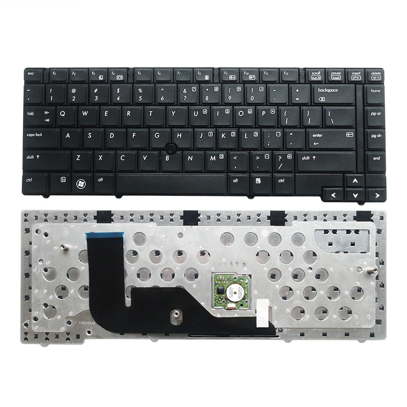 US new for <font><b>HP</b></font> <font><b>ProBook</b></font> 6440b 6445b <font><b>6450b</b></font> 6455b English laptop notebook <font><b>keyboard</b></font> teclado with point image