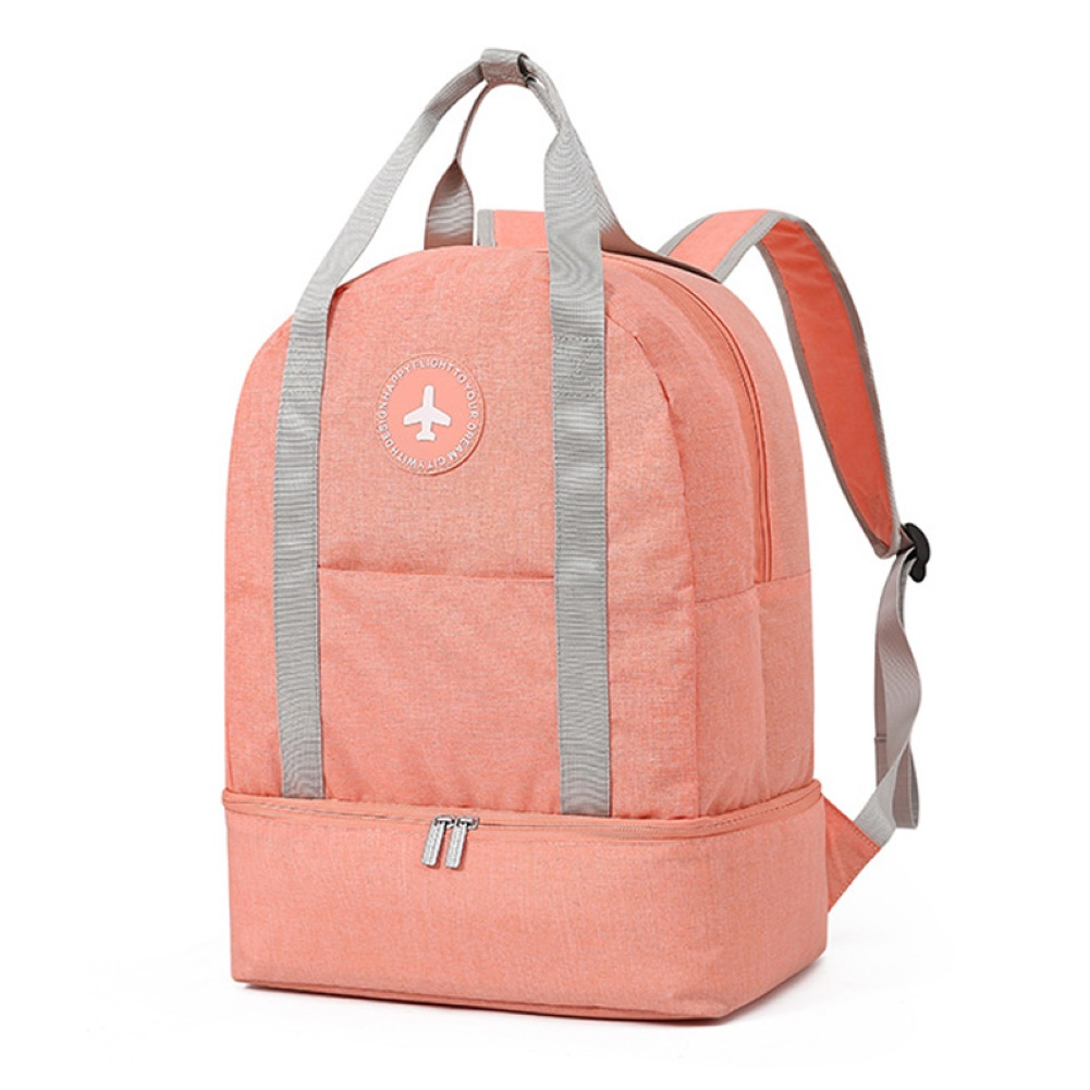 Dry-wet Separation Swim Bag Waterproof Backpack With Shoes Beach Gym Sports Bag Dry Backpack Fitness Bag  Travel  Bag