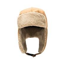 Ski-Caps Ushanka-Hats Earflap Snow Warm Winter Windproof Women Outdoor Unisex Thicken