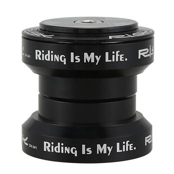 Auriculares externos de horquilla delantera de bicicleta de riesgo caliente 34 auriculares mm rectos 28,6mm Tubo de horquilla frontal auriculares de cojinete para piñón fijo de carretera Bic