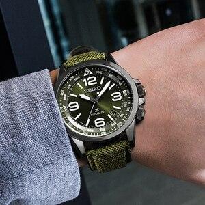 Image 3 - 세이코 브랜드 공식 오리지널 제품 전망 시리즈 시계 남자 자동 기계식 시계 캐주얼 패션 방수 손목 시계