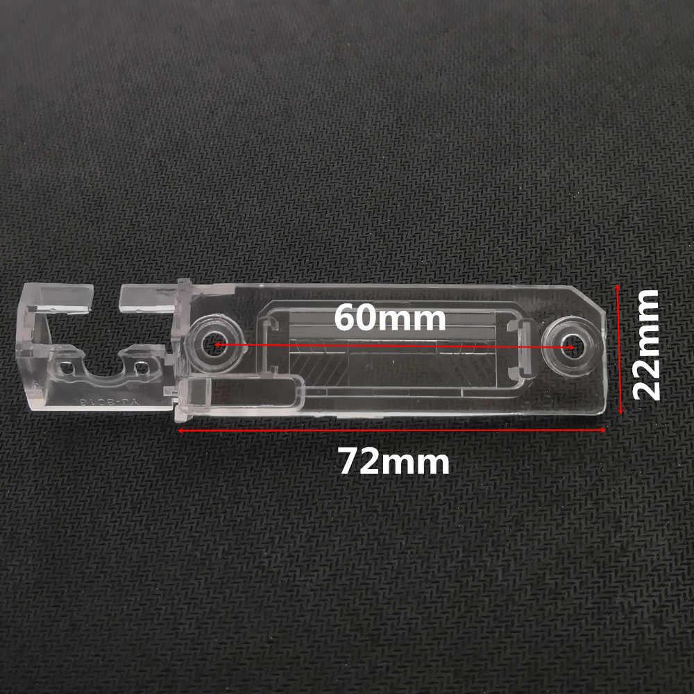 YIFOUM voiture vue arrière caméra support plaque d'immatriculation lumière pour Volkswagen Magotan Polo Bora Touran Golf Passat CC Caddy Multivan T5