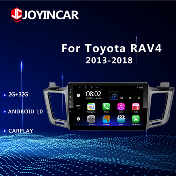2GB+32GB Android 10 2 Din Car Radio Player for Toyota RAV4 2013 2014 2015 - 2017 2018 RAV 4 GPS Navigation WIFI Stereo Head Unit image