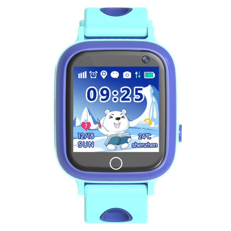 2020 New TD-08W Children's Smart Phone Watch Connect Network Video Call Camera Waterproof SOS GPS Positioning Smart Watch