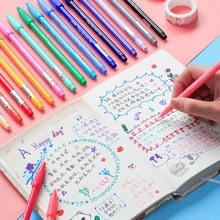 Venda quente monami mais caneta 3000 caneta de cor de água conjunto à base de água fibra nib gel caneta 12/ 24/ 36/48 cores conjunto