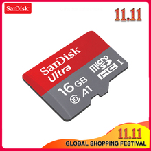 Оригинальная карта Micro SD SanDisk 16 ГБ 32 ГБ 64 ГБ 128 Гб карта памяти Макс 98 Мб/с C10 U1 A1 флэш-карта памяти Micro SD для телефона компьютера