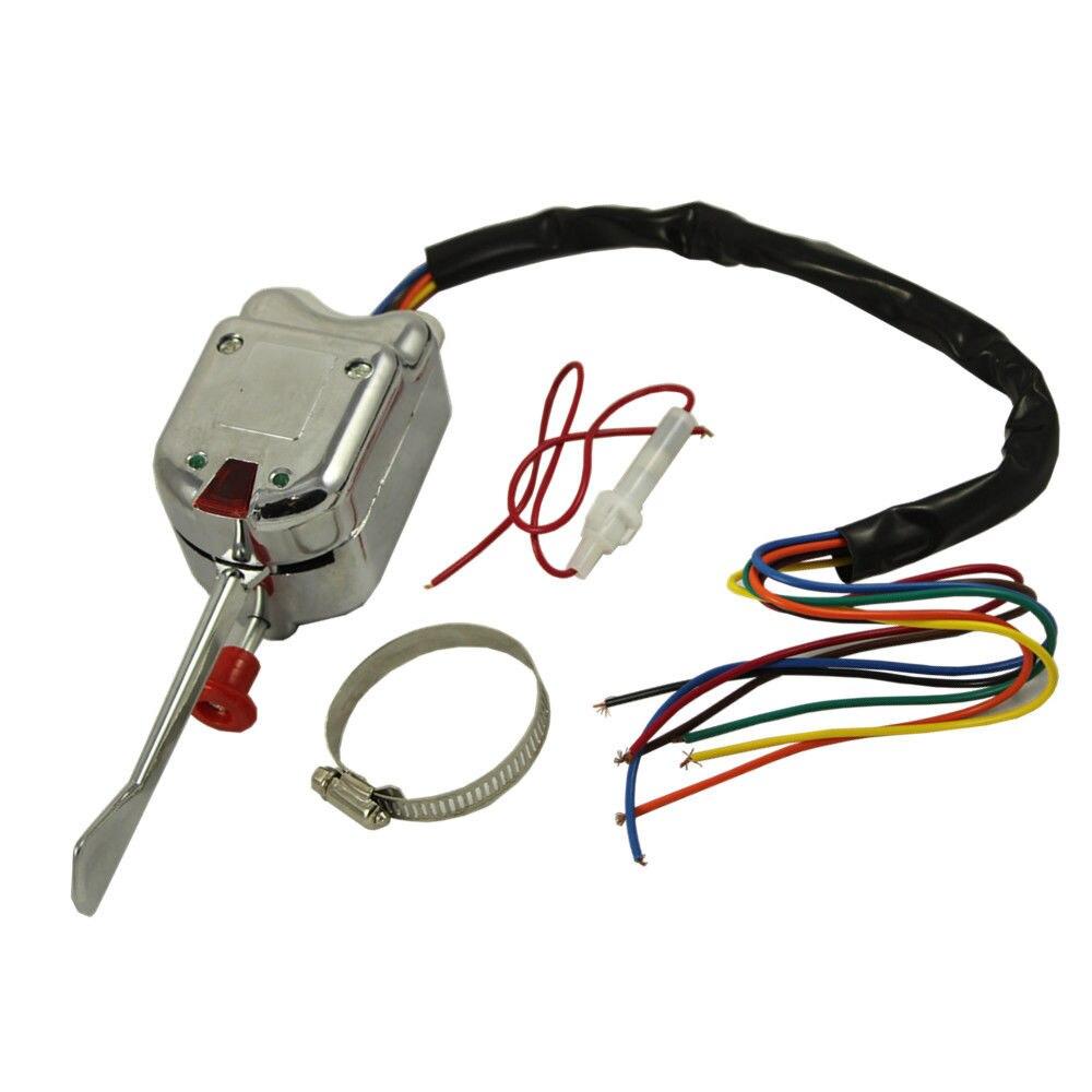 Turn Signal Indicator and Wiper Control Combination Switch for Isuzu NPR NPR NQR GMC 8973640740 Car Control Combination Switch VBESTLIFE