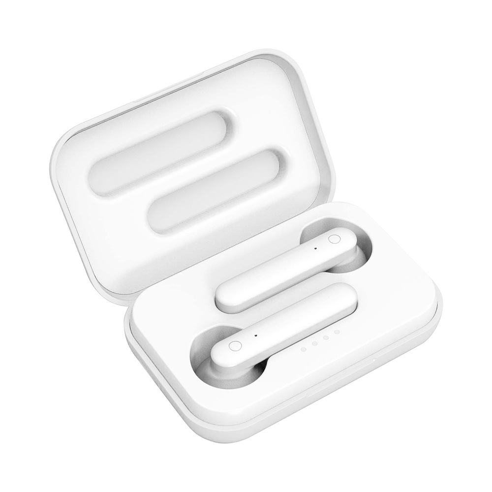 AiSmart Estéreo Sem Fio Bluetooth Fone de Ouvido Bluetooth 5.0 fone de ouvido 3D Mini Toque Inteligente TWS Earbud Suporte iOS Android Caixa de Carga