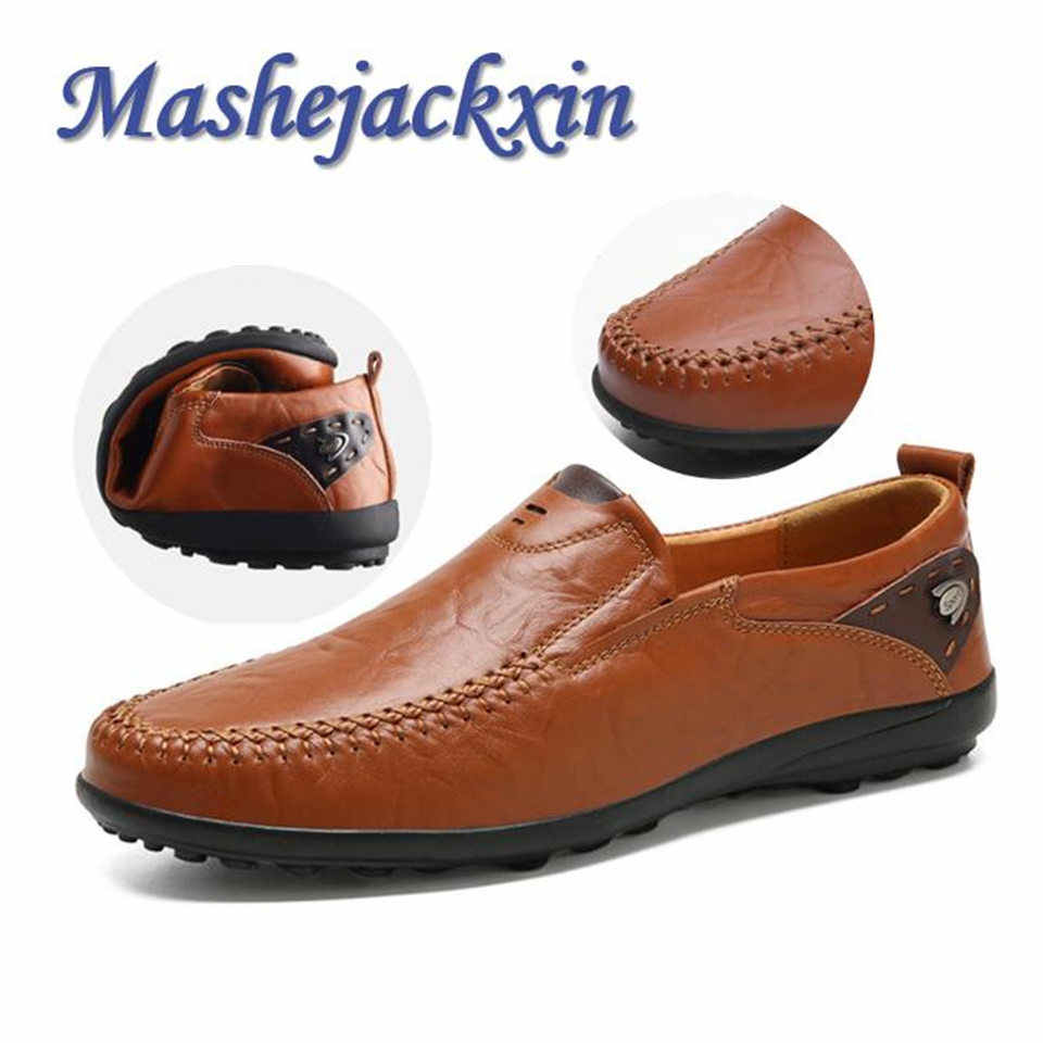 Mens Shoes Casual Genuine Leather
