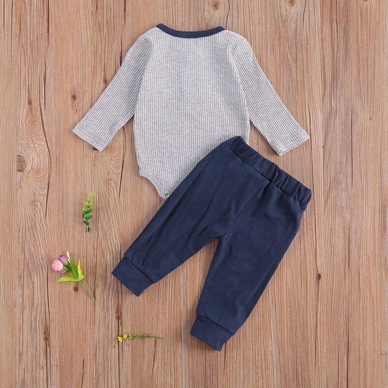 sólido macacão topo calças 2 pçs conjunto de roupa