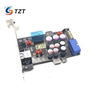 Image 2 - TZT Elfidelity AXF 100 USB כוח מסנן USB מחשב פנימי HiFi עבור אודיו שדרוג DIY