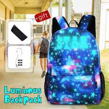 Laptop-Backpack School-Bag Daypack Travel Girl with Anti-Theft-Lock Usb-Charging-Port