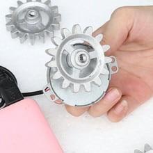 DIY Автоматическая вращающаяся рама аксессуары электрический мотор шестерни доступны для различных плоских игл для выпечки