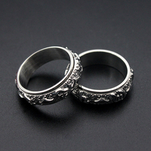 oulai777 mens rings punk wholesale stainless steel ring male accesories vintage phalangeal for men jewelry Simple 2019