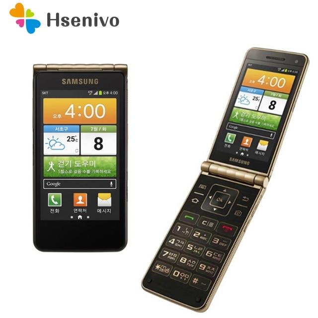 Original Samsung Galaxy I9235 Dual-core 3.7 Inches 1.5GB RAM 16GB ROM 8MP Camera Unlocked Flip Android mobile phone