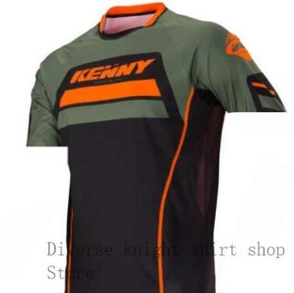 2020Hombres Downhill Jerseys Mountain Bike MTB Camisetas Off Road DH Motocicleta Ropa Motocross Ropa Deportiva BMX Ciclismo Ropa